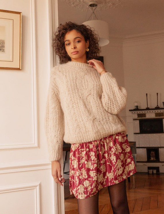 Beige Nilo sweater