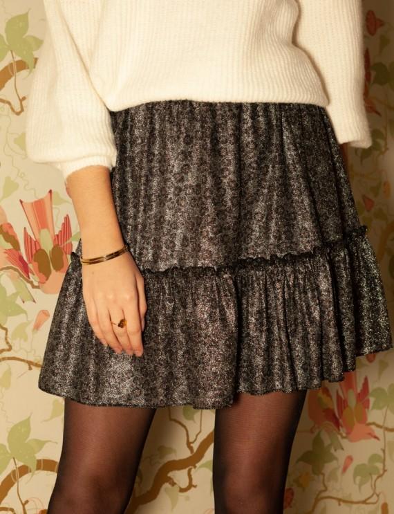 Iridescent Johanna skirt