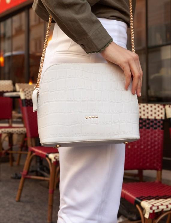 White Félix bag