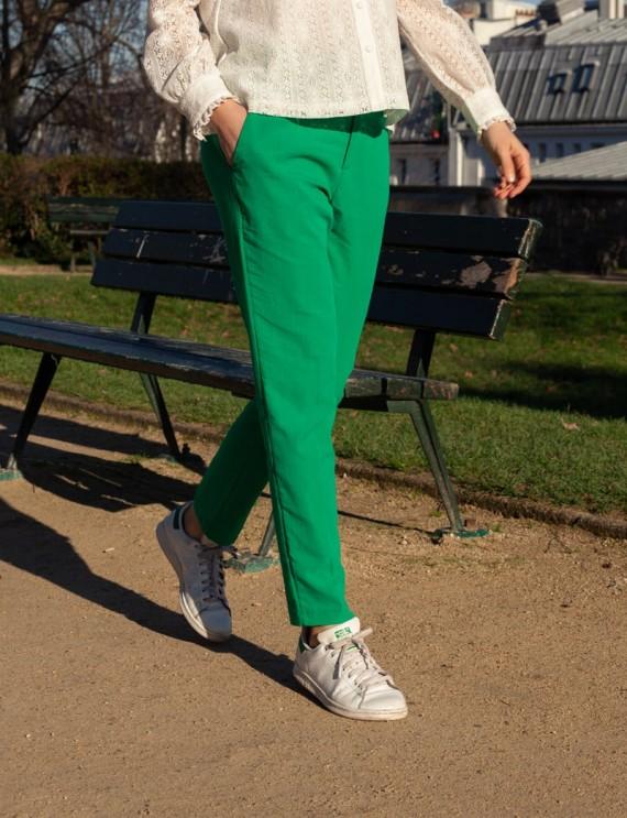 Pantalon vert Pierre