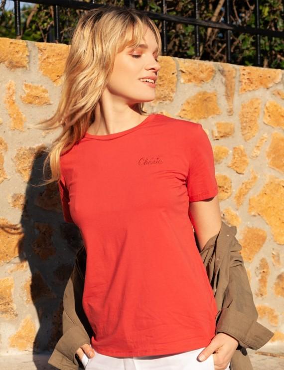 T-shirt rouge Alexandre
