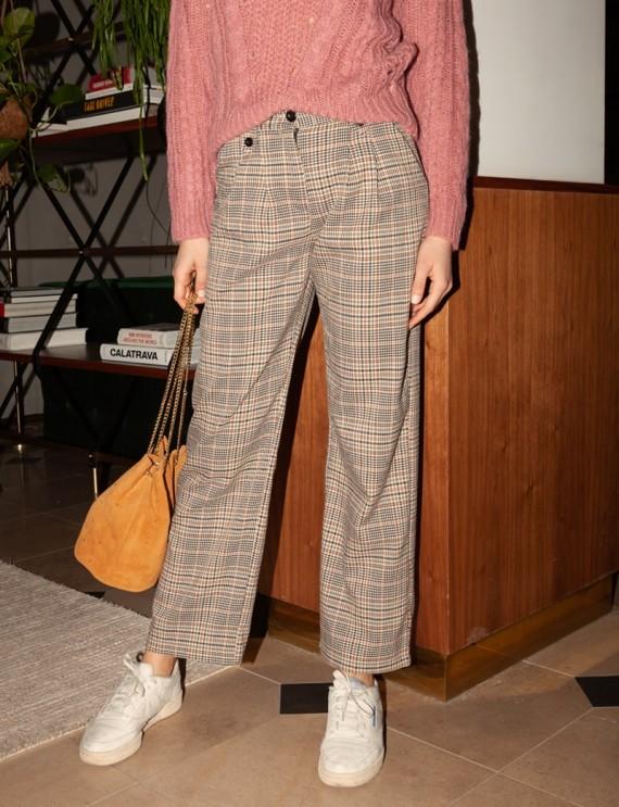 Checkered Henri trousers