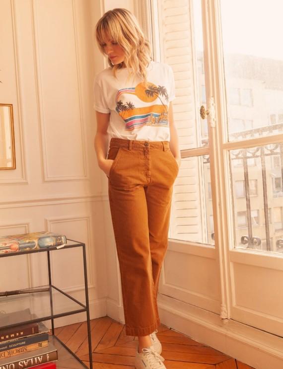 Camel Maël trousers