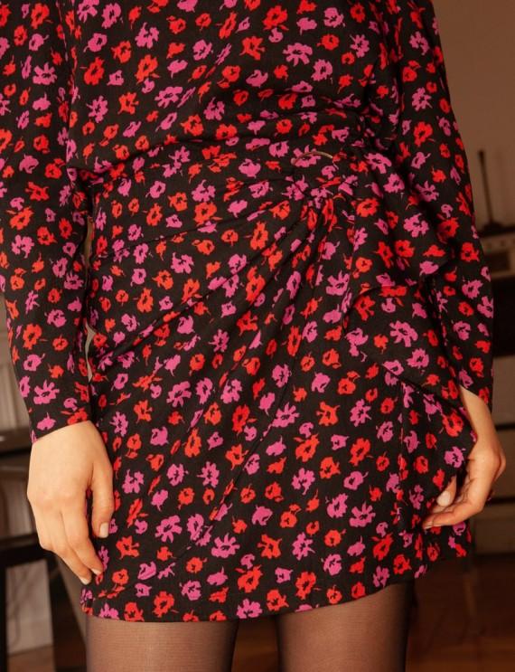 Jupe courte fleurie Loulou