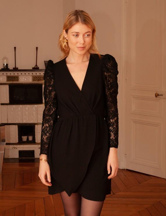 Robe noire Isabelle