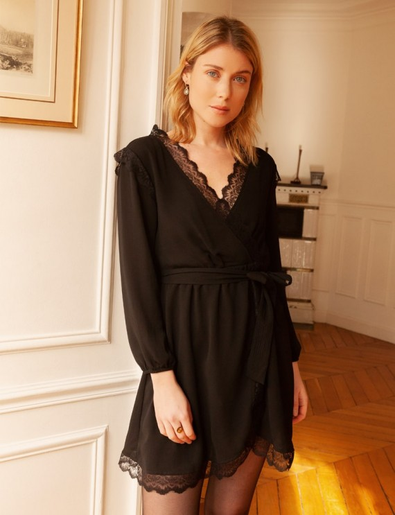 Robe noire Tessa