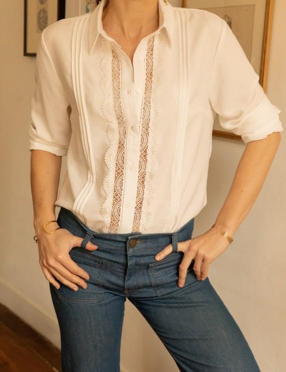 Chemise blanche Eléonora