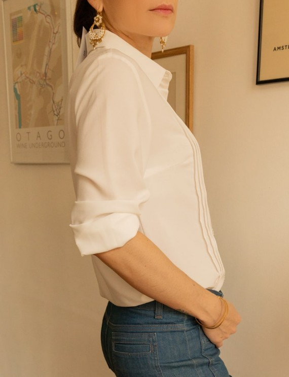 Côté chemise blanche Eléonora