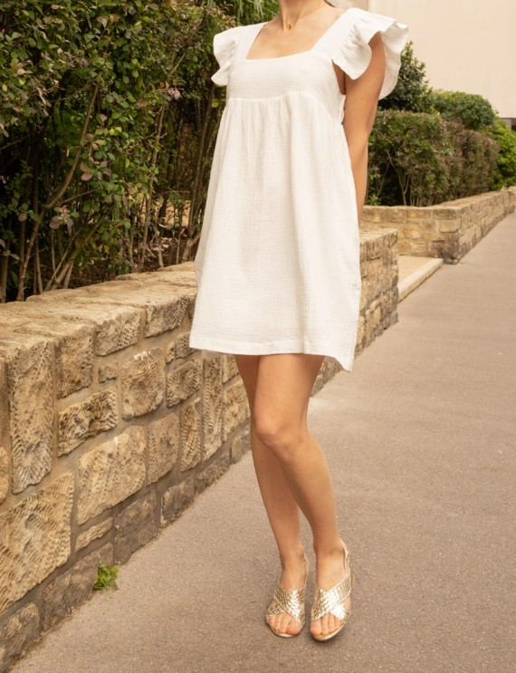 White Marie dress