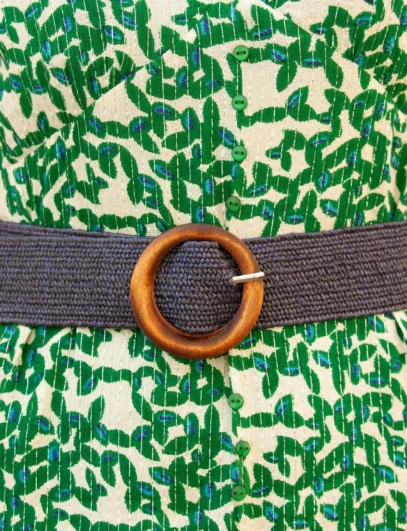 Navy Nina belt