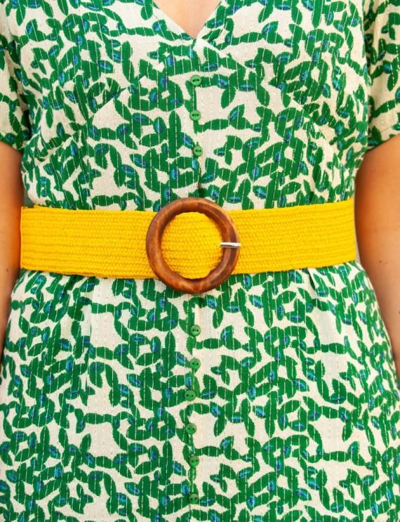 Yellow Nina belt