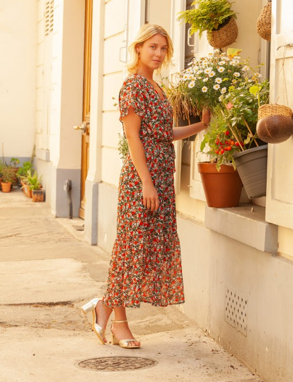 Robe fleurie Marisa