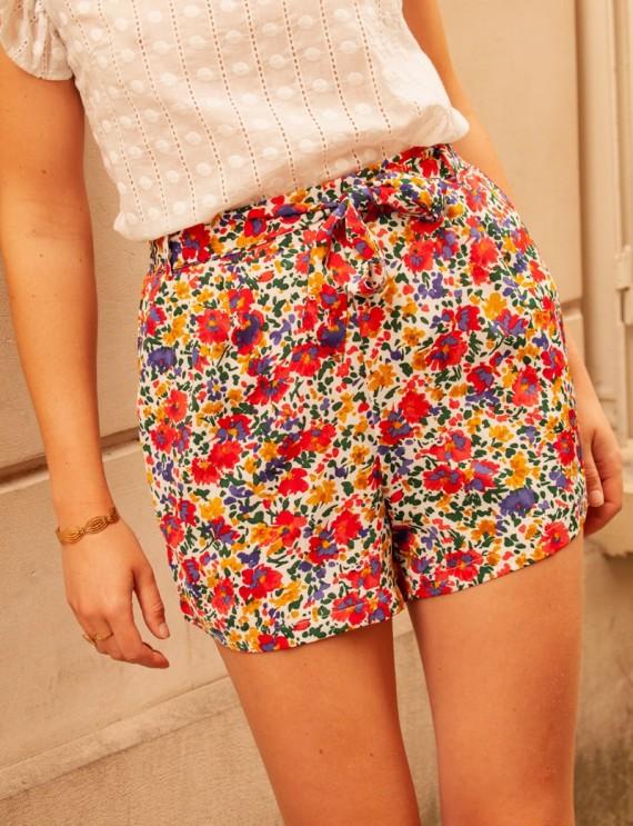 Floral Dari shorts