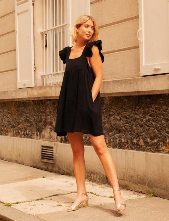 Robe noire Marie