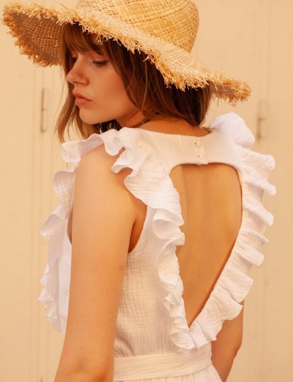 Robe blanche Louison