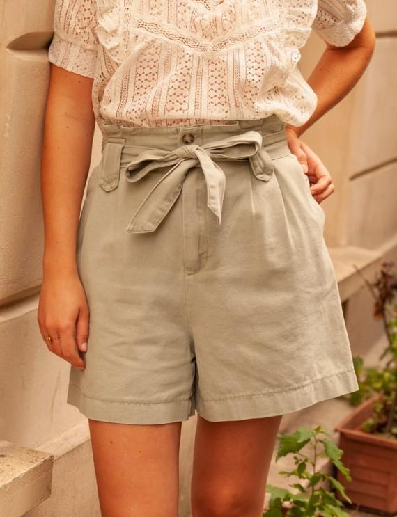 Khaki Roméo shorts