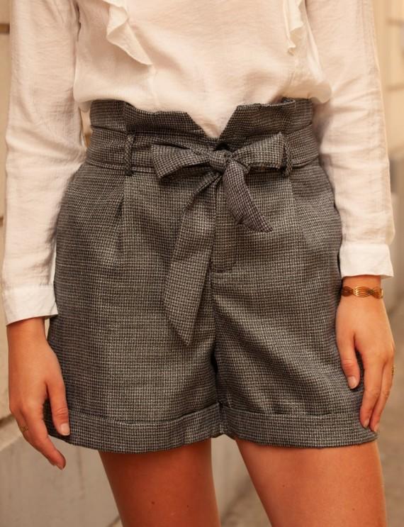 Grey Corentin shorts