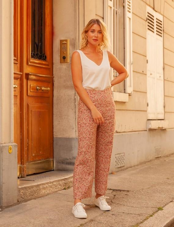 Floral Marin pants