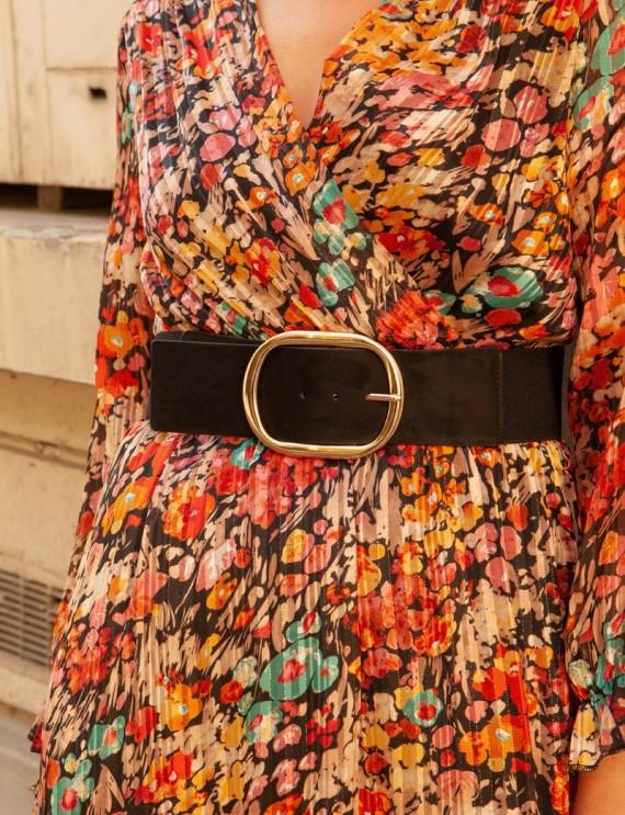 Black Lila belt