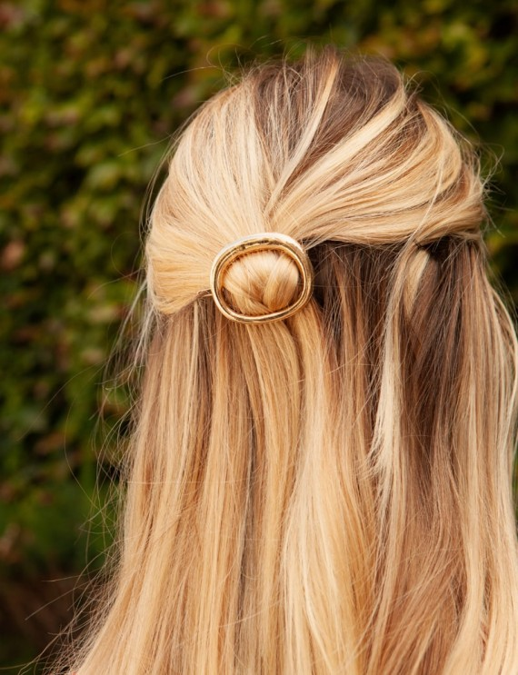 Golden Alisa hair clip