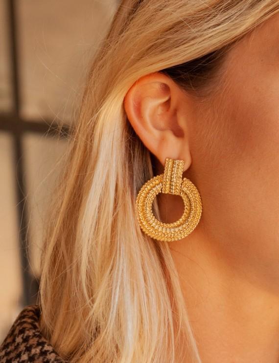 Golden Adya earrings