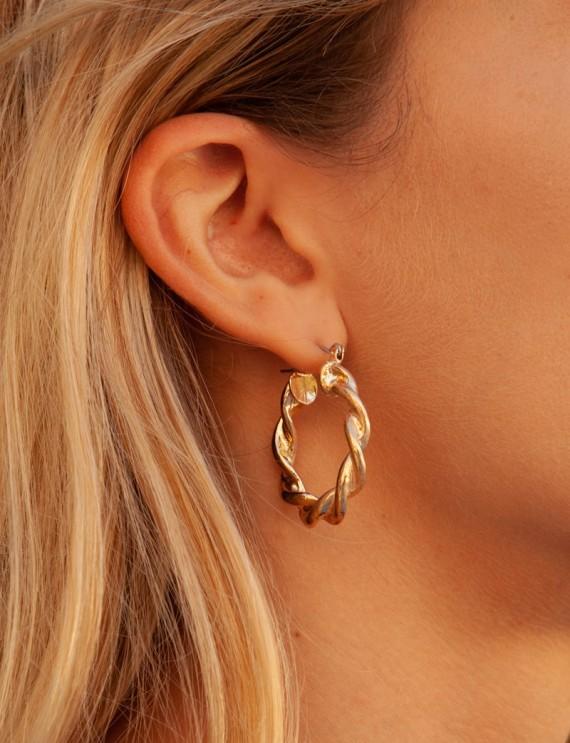 Golden Adina earrings