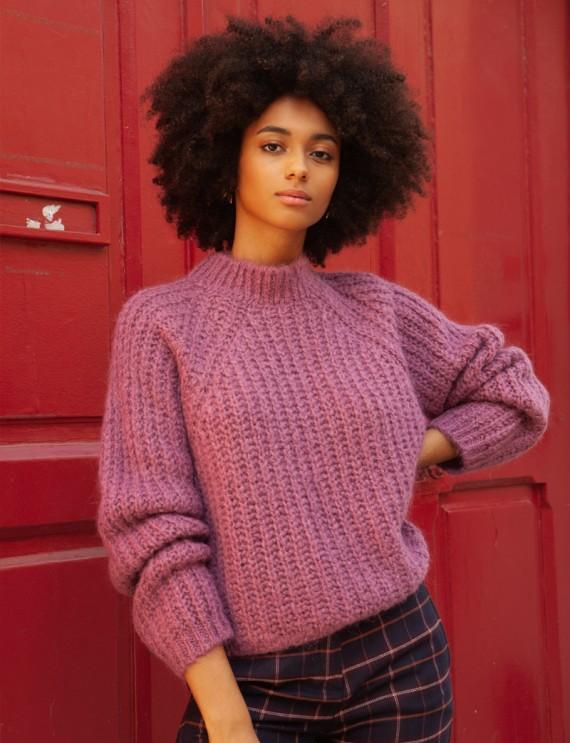 Mauve Edmond sweater