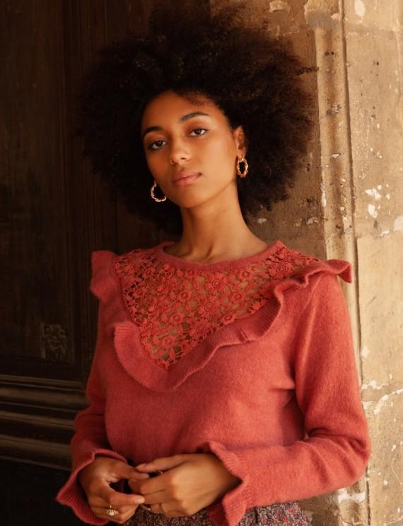 Terracotta Lenzo sweater
