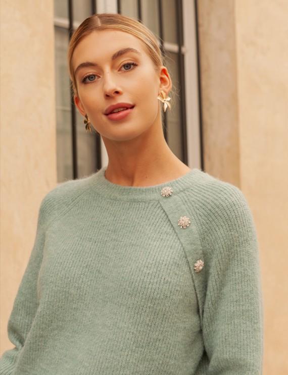 Water green Eliott sweater