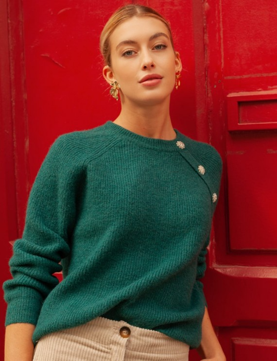 Green Eliott sweater