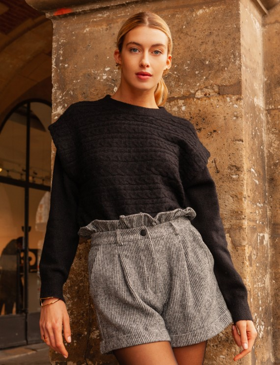 Black Ronan sweater