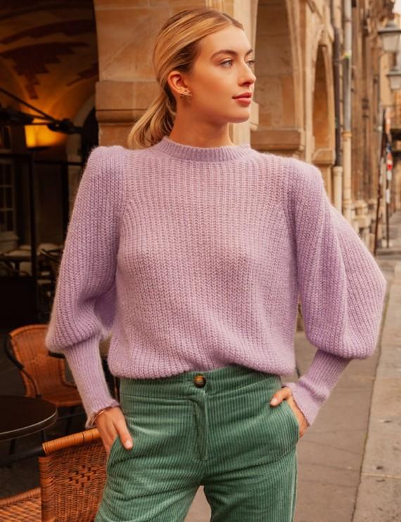 Lilac Gabino sweater