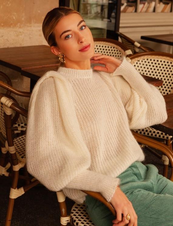 White Gabino sweater