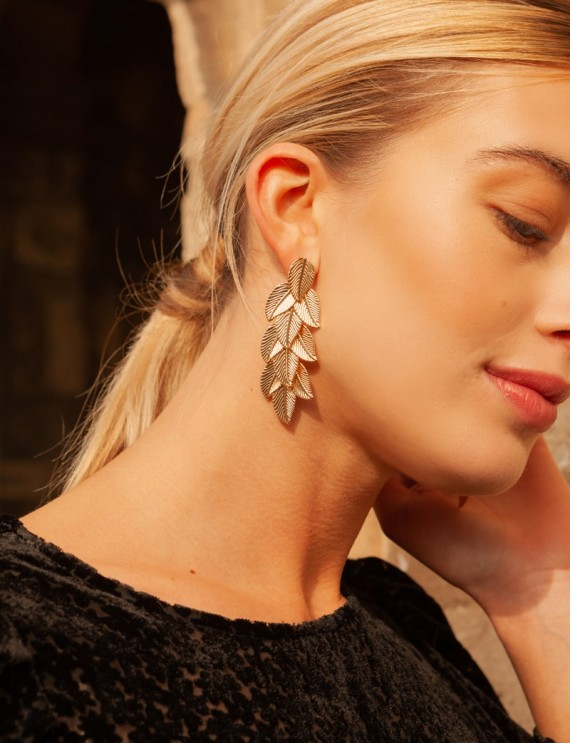 Golden Tilo earrings