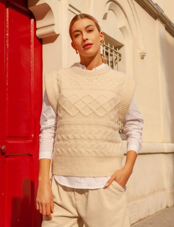 Ecru Alban sweater