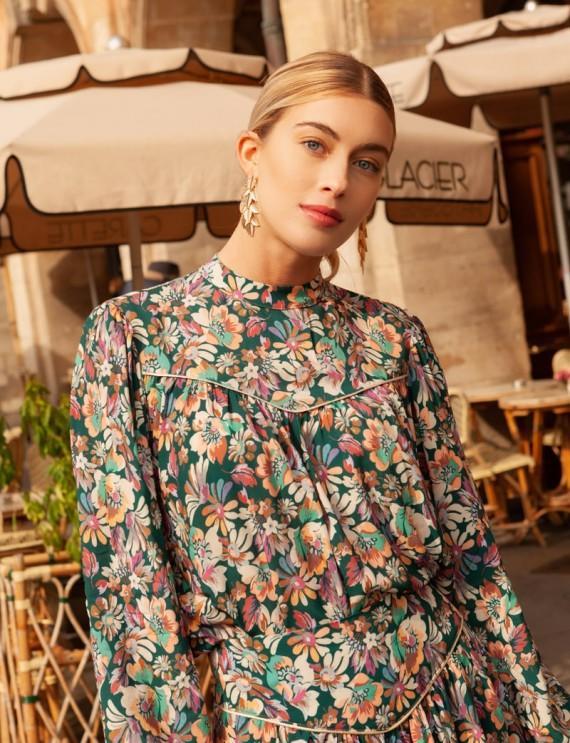 Floral Eva blouse