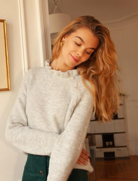 Grey Gaspard sweater