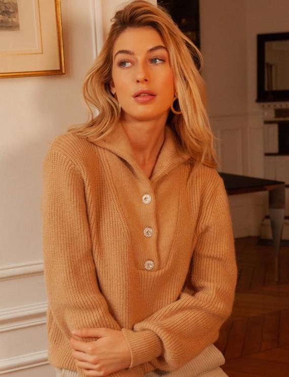 Camel Oliver sweater