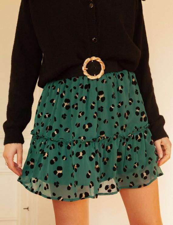 Green Iska skirt