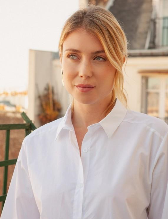Col chemise Blanche Alexi