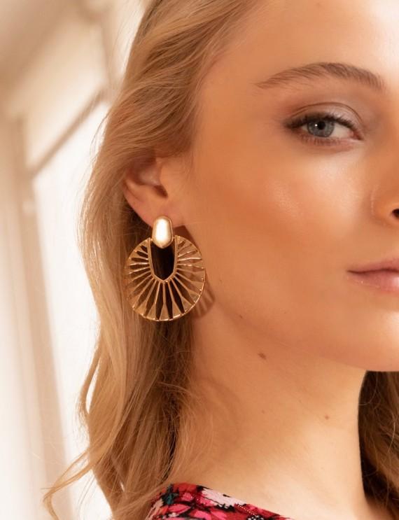 Golden Alva earrings
