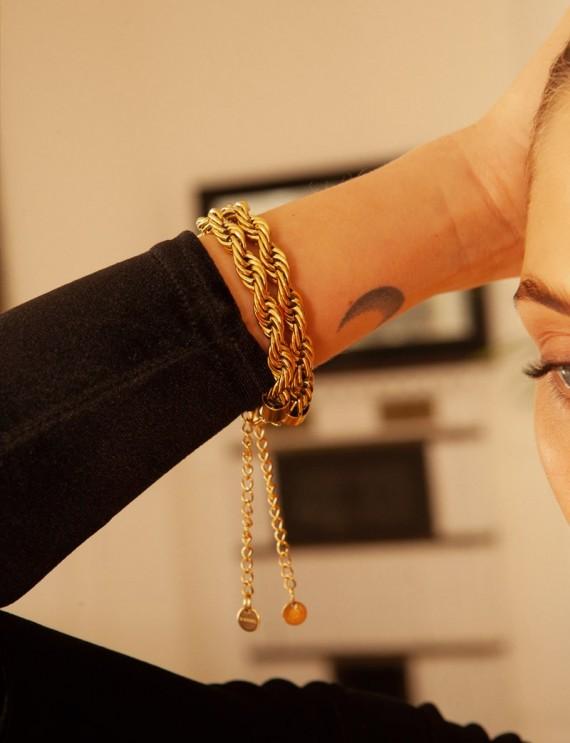 Bracelet maille Sacha