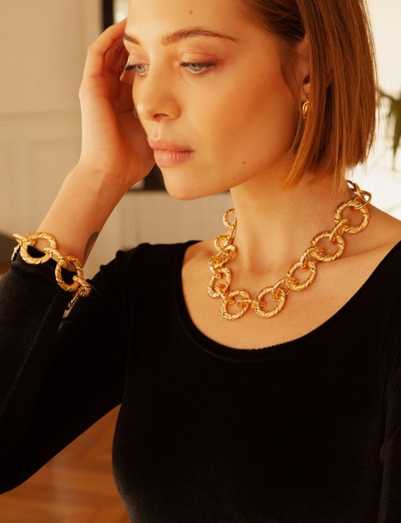 Golden Henry necklace