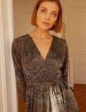 Col robe irisée Roma