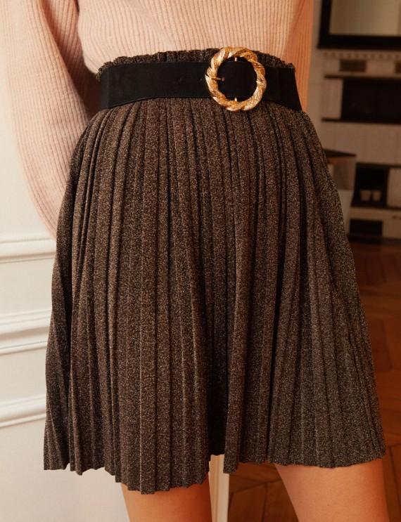 Jupe bronze Carole