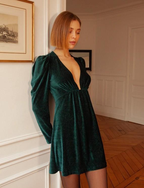 Robe verte Gabriella