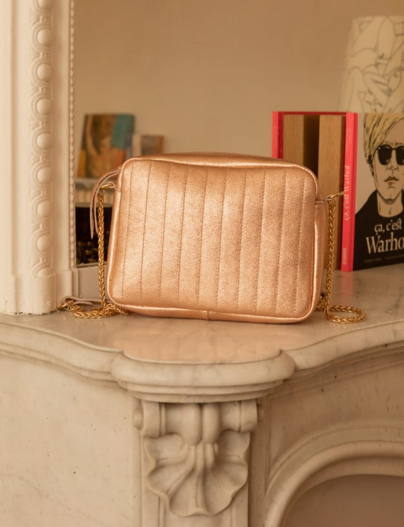 Pink iridescent Lilio bag