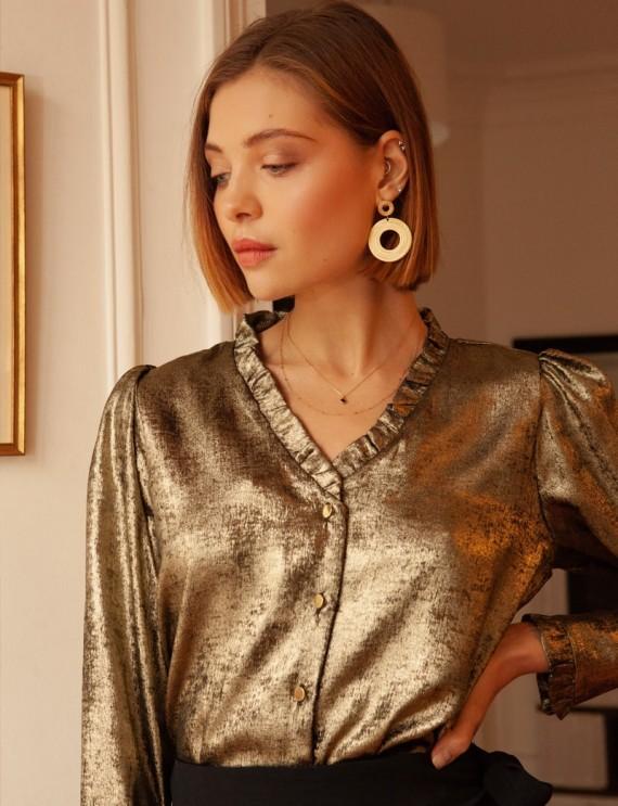 Golden Magi blouse