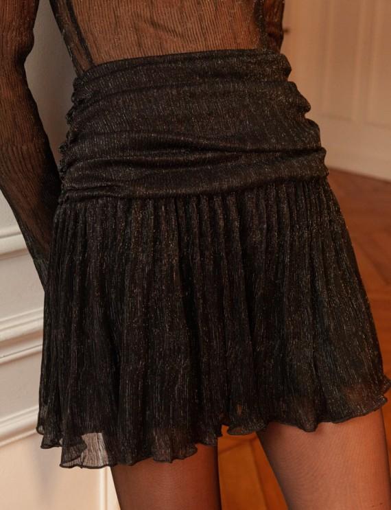 Jupe noire irisée Isabella
