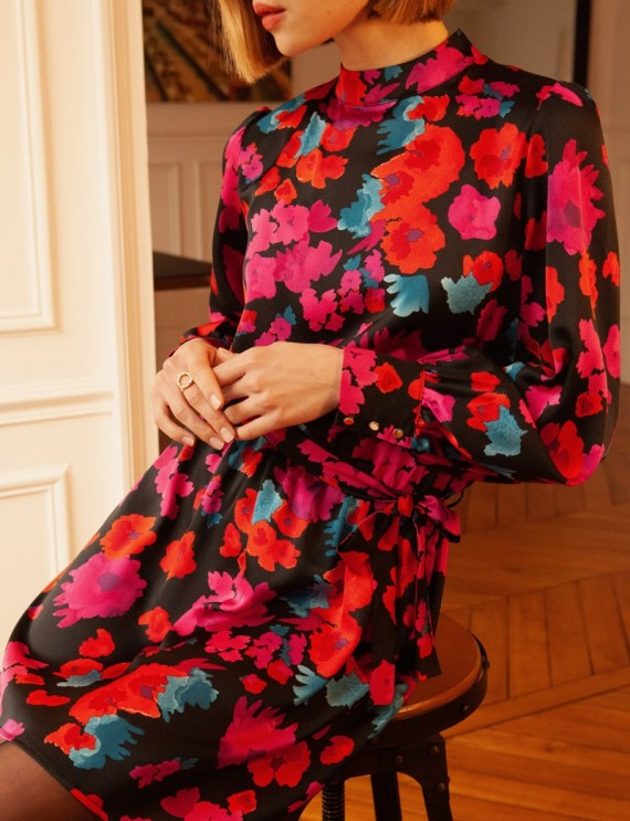 Robe à fleurs Dalya